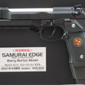 Samurai Edge: Barry Burton model