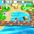 『PUZZLE & DRAGONS SUPER MARIO BROS. EDITION』ワールド散策画面