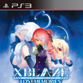 PS3版『XBLAZE LOST:MEMORIES』パッケージ
