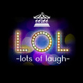「LOL -lots of laugh-」ロゴ