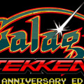 『Galaga:TEKKEN 20th Anniversary Edition』ロゴ