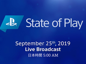 PlayStation関連の新情報を発信!―SIE公式番組「State of Play」第3回が9月25日午前5時より放送決定 画像
