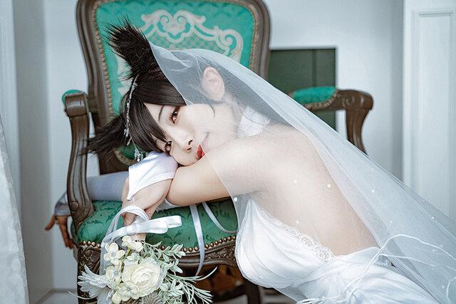 愛宕(ウェディングドレス)/画像提供:切切キリコ