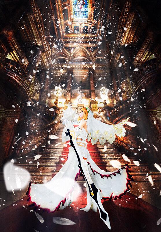 『Fate/Grand Order』ネロ/画像提供:Elly