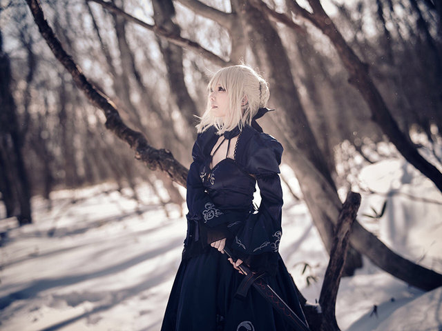 『Fate/Grand Order』セイバー〔オルタ〕/画像提供:Elly