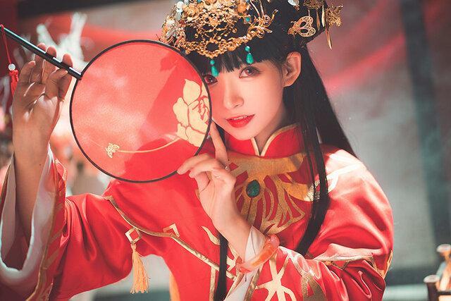 『アズールレーン』逸仙(ケッコン衣装)/「Chinajoy」