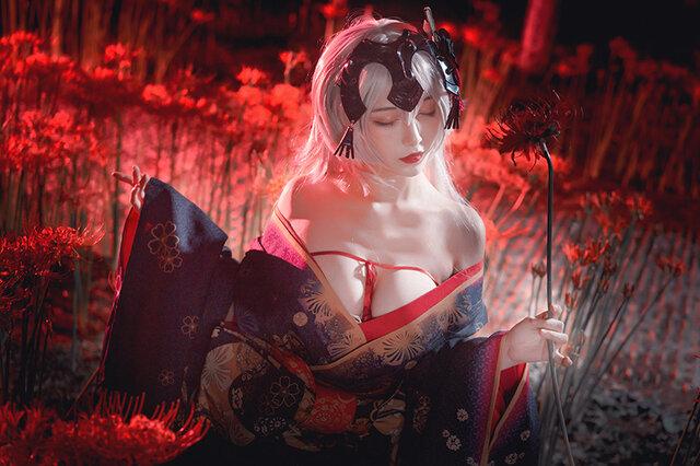 『Fate/Grand Order』ジャンヌ・ダルク[オルタ] (着物)