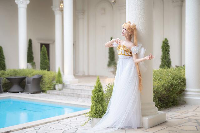 『美少女戦士セーラームーン』プリンセス・セレニティ/モデル:KAPI、撮影:乃木章
