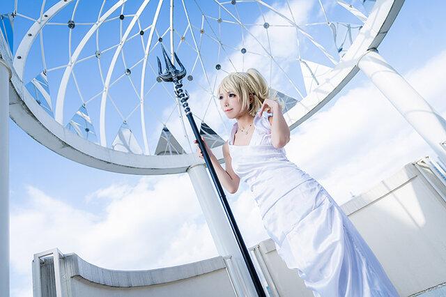 『ファイナルファンタジーXV』ルナフレーナ/モデル:Elly