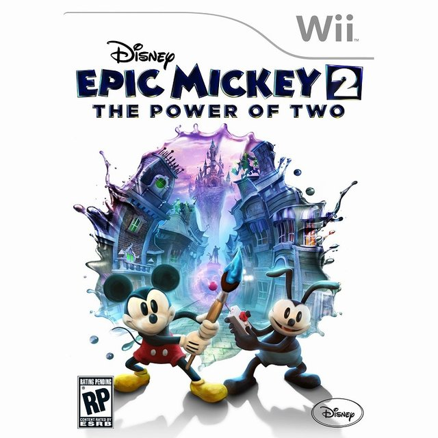 Wii版『Epic Mickey 2: The Power of Two』パッケージ