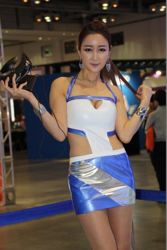 【G-STAR 2013】韓国美女コンパニオンフォトレポート(アプリ・コンシューマー)1日目 12枚目の写真・画像