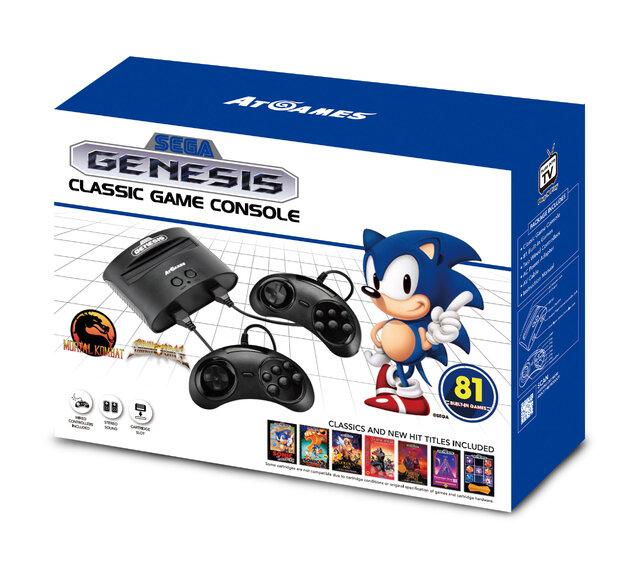 海外版メガドライブ新型「Sega G...
