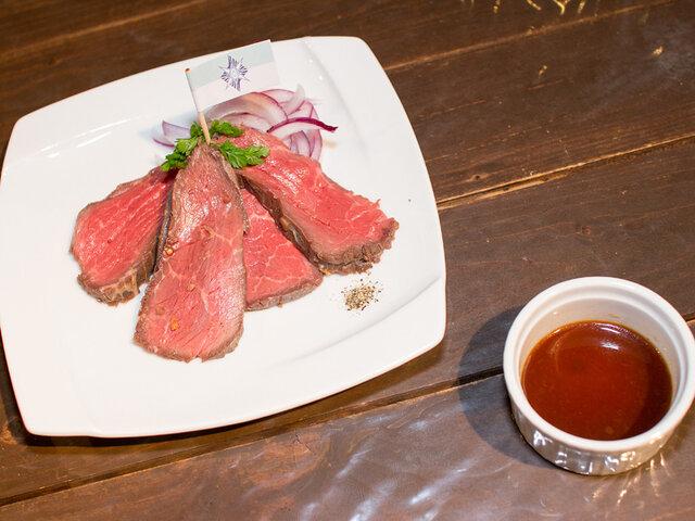 <前半フードメニュー【6/22~7.5まで】>エスタ風ローストビーフ(税込1,500円)