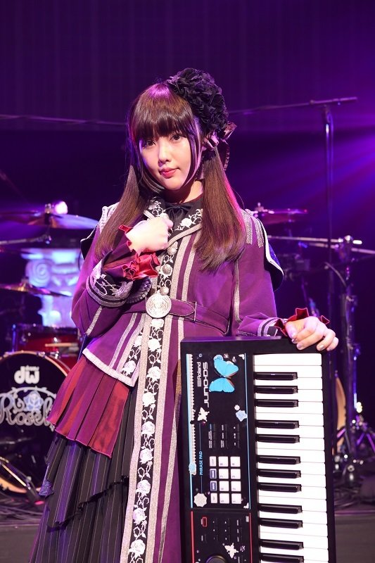 Roselia Live 「Vier」白金燐子役の志崎樺音
