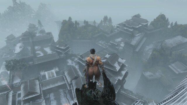 高所から見下ろすと、これまでの苦労が思い出されます。