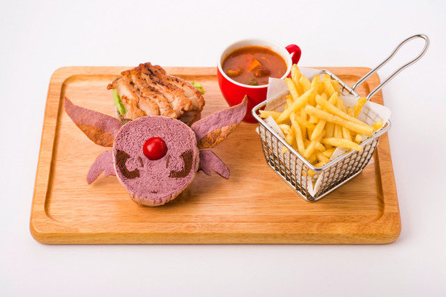 「エーフィの照り焼きチキンバーガー」1,598円(C) 2019 Pokemon.(C)1995-2019 Nintendo/Creatures Inc./GAME FREAK inc.