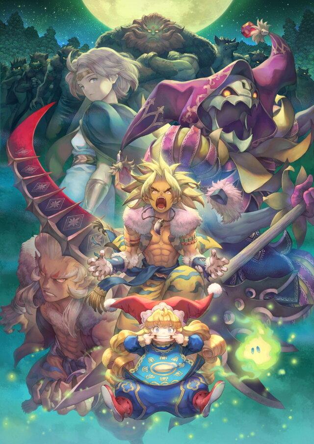 『聖剣伝説3 TRIALS of MANA』プレイヤーを迷わせる魅力的な力「クラス3」の情報が公開!光と闇の計4クラス…君はどれを選ぶ?