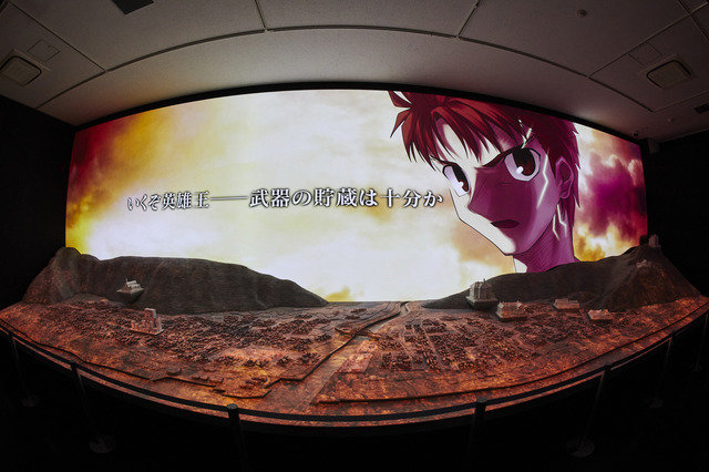 「TYPE-MOON展 Fate/stay night -15年の軌跡-」